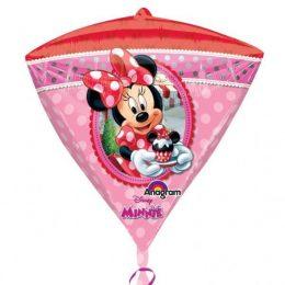 Mπαλονι τρισδιάστατο διαμάντι Minnie Mouse