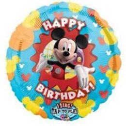 Μπαλόνι για γενέθλια Mickey Mouse μουσικό 71 εκ