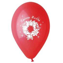 """12"""" Μπαλόνι κόκκινο """"Χρόνια Πολλά"""""""