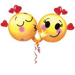 Μπαλόνι αγάπης Emoticons ερωτευμένα 91 εκ