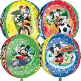 Mπαλονι Mickey Mouse με ποδήλατο ORBZ