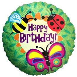 Μπαλόνι για γενέθλια Ζουζούνια 'Happy Birthday'