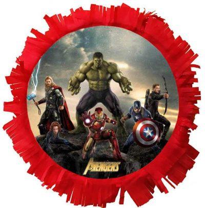 Χειροποίητη Πινιάτα πάρτυ Avengers