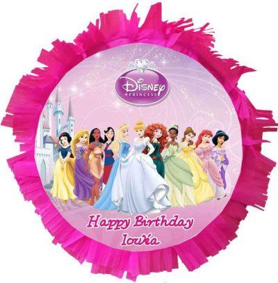 Χειροποίητη Πινιάτα πάρτυ Πριγκίπισσες Disney