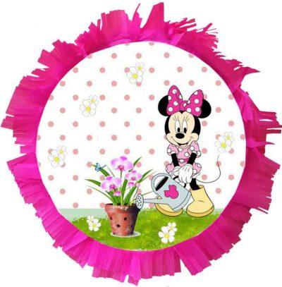 Χειροποίητη Πινιάτα πάρτυ Minnie Mouse