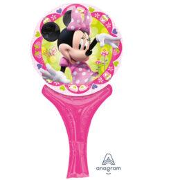 Μπαλονάκι Minnie Mouse με λαβή