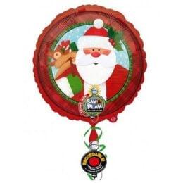 Μπαλόνι Άγιος Βασίλης που ηχογραφεί