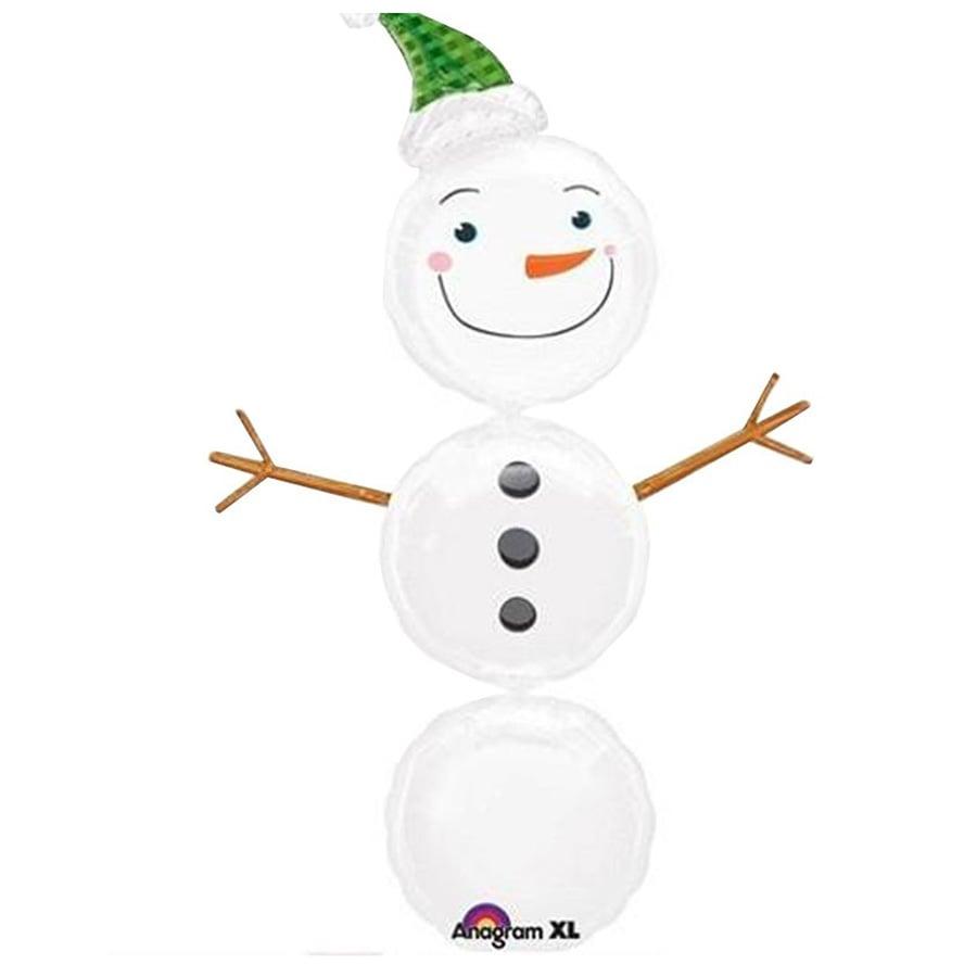 Μπαλόνι χριστουγεννιάτικο χιονάνθρωπος
