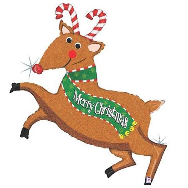 Μπαλόνι χριστουγεννιάτικος τάρανδος
