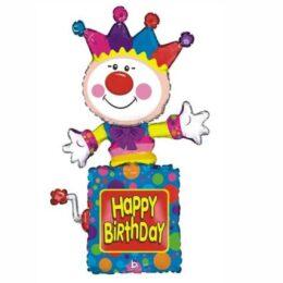 Μπαλόνι Ζογκλέρ Happy Birthday