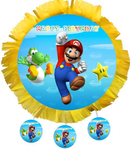 Χειροποίητη Πινιάτα Super Mario