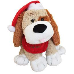 """Χνουδωτό Σκυλάκι """"Santa's Helper"""""""