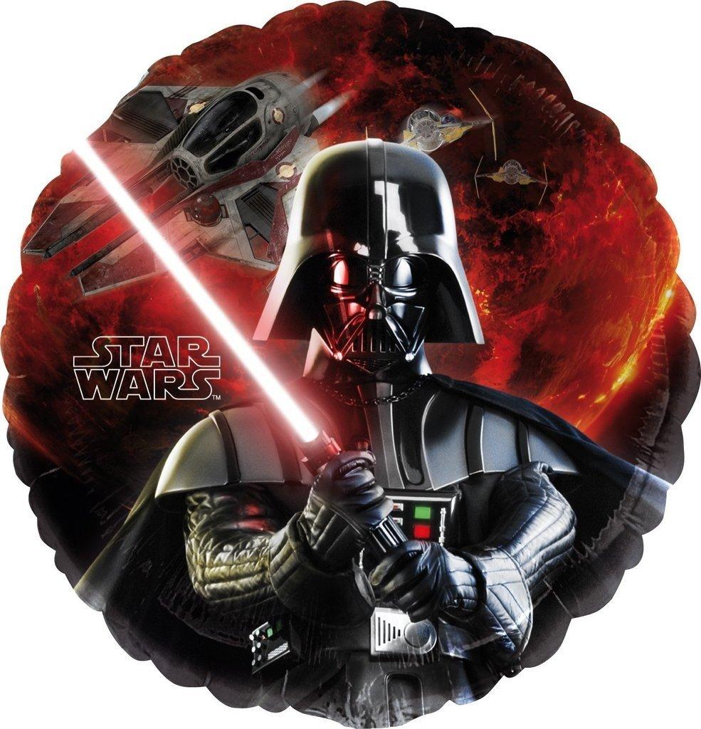 Μπαλόνι Star Wars Darth Vader στρογγυλό