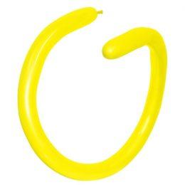 Μπαλόνι κατασκευής μακρόστενο 260 κίτρινο