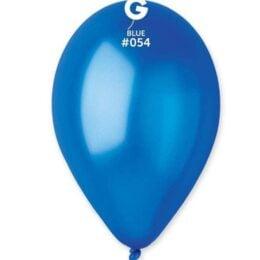 13″ μεταλλικό μπλε λάτεξ μπαλόνι