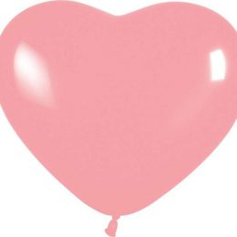 12″ Μπαλόνι καρδιά ροζ