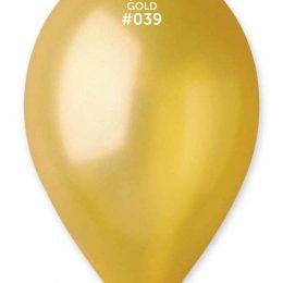 """13"""" Χρυσό λάτεξ μπαλόνι"""