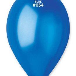 """13"""" Μεταλλικό Μπλε λάτεξ μπαλόνι"""