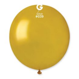 "48cm – 19"" Χρυσό μεγάλο μπαλόνι"