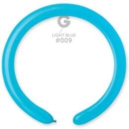 Μπαλόνι κατασκευής μακρόστενο 260 γαλάζιο