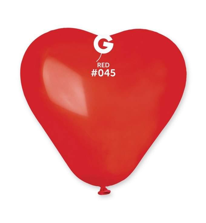 """6"""" Μπαλόνι καρδιά κόκκινη"""