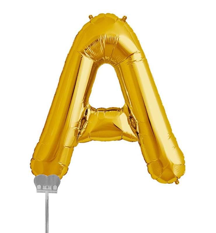 Μπαλονι 40 εκ Χρυσό Γράμμα A