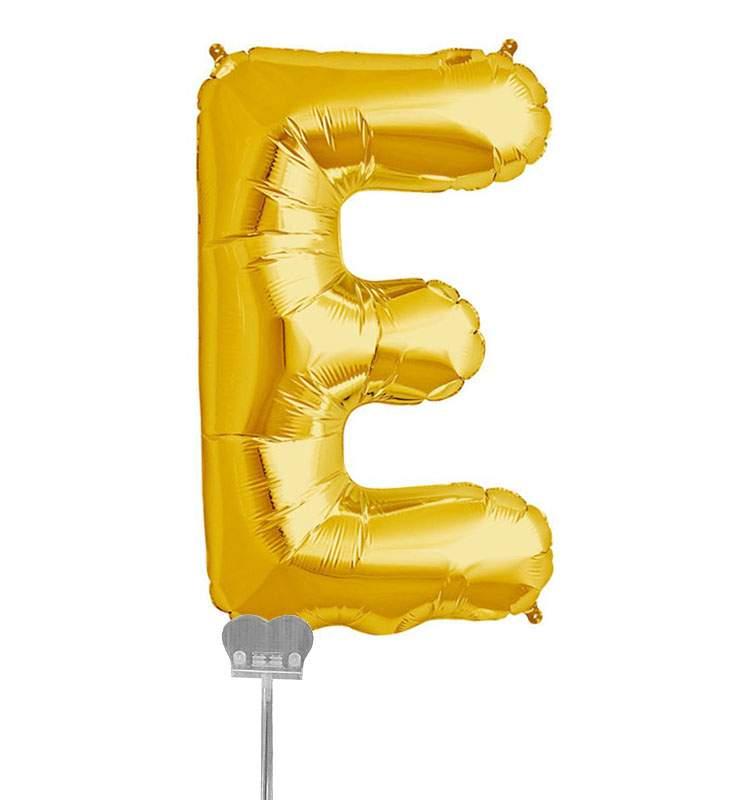 Μπαλονι 40 εκ Χρυσό Γράμμα E