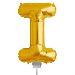 Μπαλονι 40 εκ Χρυσό Γράμμα I