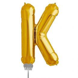 Μπαλονι 40 εκ Χρυσό Γράμμα K