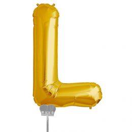 Μπαλονι 40 εκ Χρυσό Γράμμα L