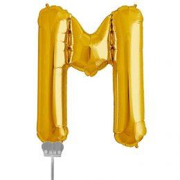 Μπαλονι 40 εκ Χρυσό Γράμμα M