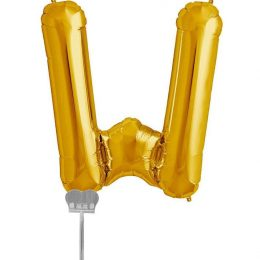 Μπαλονι 40 εκ Χρυσό Γράμμα W