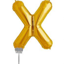 Μπαλονι 40 εκ Χρυσό Γράμμα X