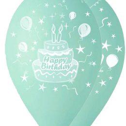 12″ Μπαλόνι βεραμάν τούρτα γενεθλίων