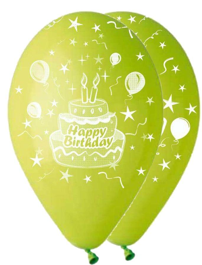 """12"""" Μπαλόνι λαχανί τούρτα γενεθλίων"""