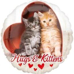 Μπαλόνι αγάπης Γατάκια Hugs & Kittens 45 εκ