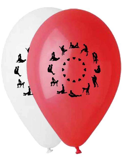 """12"""" Μπαλόνι τυπωμένο Kama Sutra"""