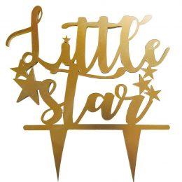 Διακοσμητικό για μωρότουρτα Little Star