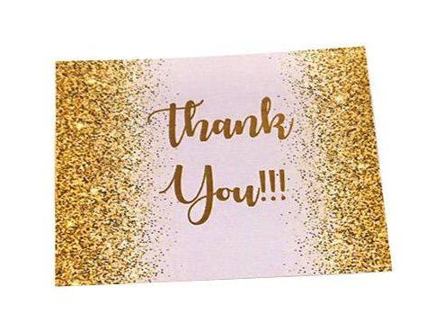 Χάρτινο μικρό ευχαριστήριο καρτάκι 'Thank You'