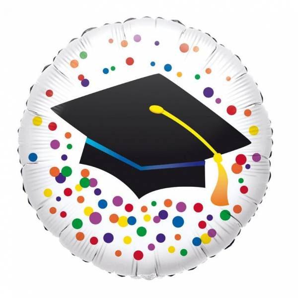 Μπαλόνι αποφοίτησης καπέλο 45 εκ