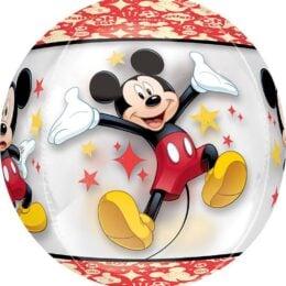 Mπαλονι Mickey Mouse Διάφανο ORBZ