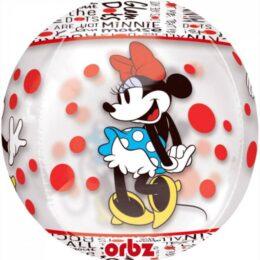 Mπαλόνι Minnie Mouse διάφανο ORBZ 38 εκ