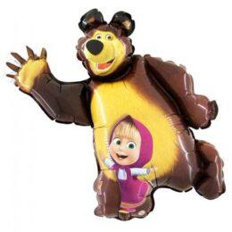 Μπαλόνι Masha και ο αρκούδος 110 εκ
