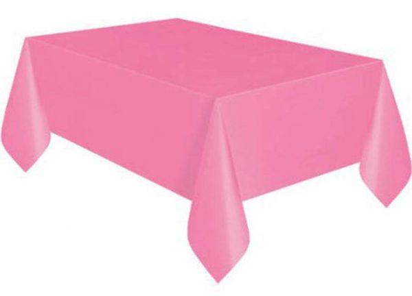 Τραπεζομάντηλο πλαστικό ροζ
