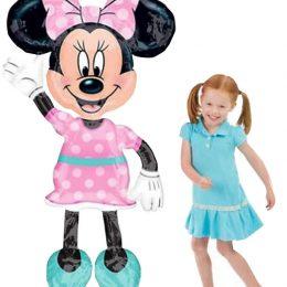 Τεράστιο μπαλόνι Airwalker Minnie Mouse Ροζ 137 εκ