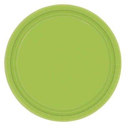 Πιάτα πάρτυ μεγάλα λαχανί (8 τεμ)