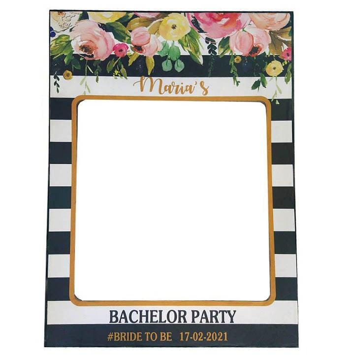 Πλαίσιο για photobooth bachelor party