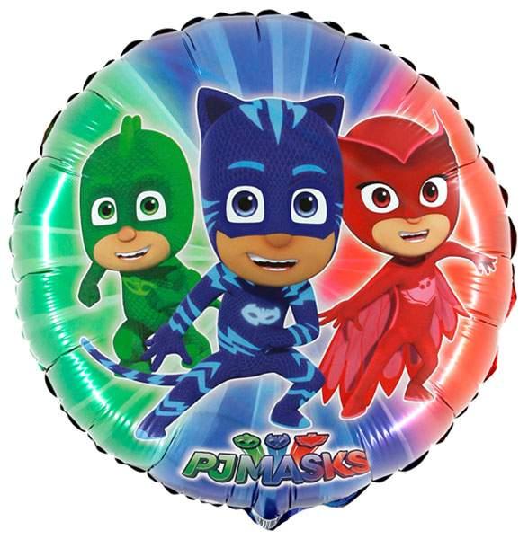 Μπαλόνι PJ Masks στρογγυλό 56 εκ