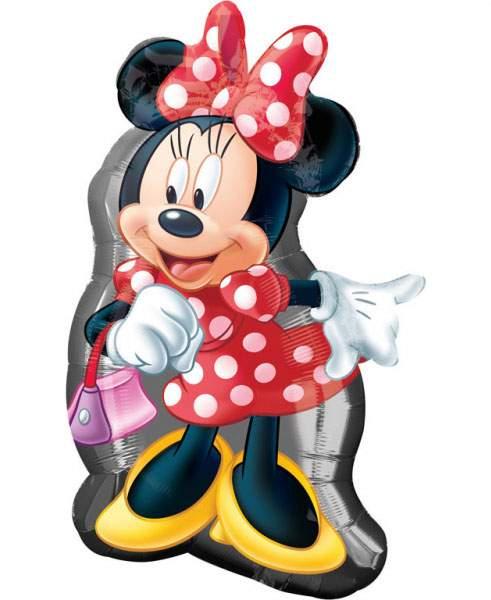 Μπαλόνι Minnie Mouse με τσαντάκι