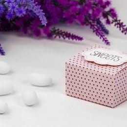 Κουτάκι πουά με καρτάκι sweets (6)
